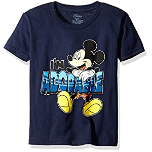 Disney Boys' Mickey Mouse I'm Adorable Boys T-Shirt