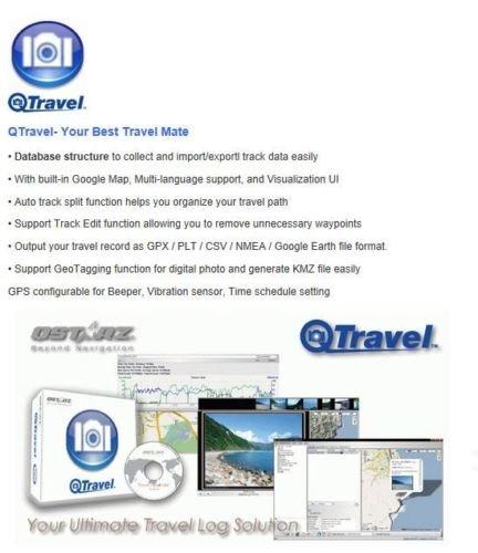 Qstarz BT-Q1000XTM Mileage Bluetooth Data Logger GPS Receiver (66 ch, AGPS, Vibration sensor, 400K waypoints) by Qstarz (Image #4)