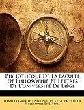 Bibliothèque de la Faculté de Philosophie et Lettres de L'Université de Liège, Henri Francotte, 1147804427