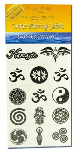 Water Blessing Labels: Sacred -