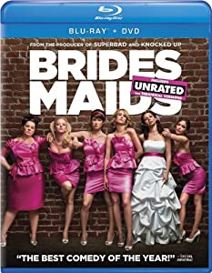 Cover Image for 'Bridesmaids (Two-Disc Blu-ray/DVD Combo + Digital Copy in Blu-ray Packaging)'