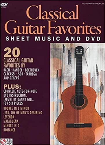 Classical Guitar Favorites [With DVD]: Amazon.es: Gill, Danny ...