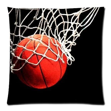Fashion fundas de almohada de diseño de moda baloncesto con ...
