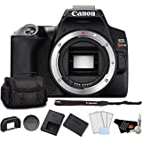 Canon EOS Rebel SL3 DSLR Camera (Black, Body Only) Bundle with LCD Screen Protectors + Carrying Case and More