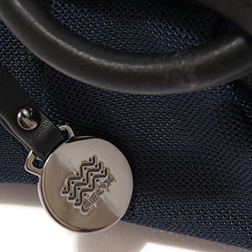 Pochette Blu Bag Small Woman Respira 1452t Donna Borsa Geox qwU4Ew