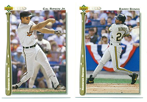 1992 Upper Deck Homerun Heroes Complete 26 Card Set with Ripken, Bonds, Thomas, Canseco - Baseball (1992 Upper Deck Star)