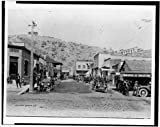 Photo: Business section,commercial buildings,streets,districts,Miami,Arizona,AZ,c1910