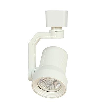 amazon com hampton bay white led track lighting head electronics