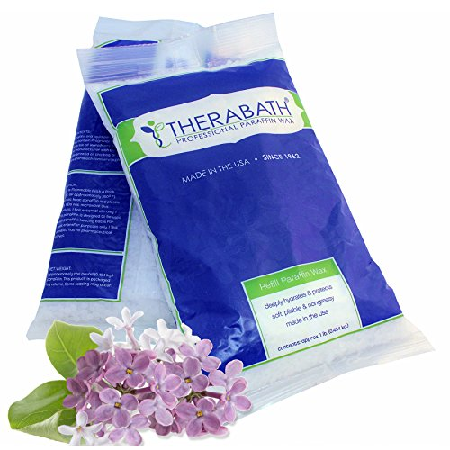 Therabath Refill Paraffin Wax, Blooming Lilacs, 6 lbs ()