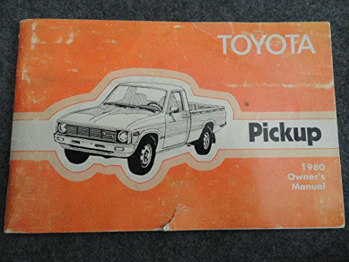 1980 Toyota Truck Owners Manual