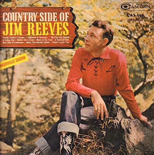 Country Side of Jim Reeves Record Album Vinyl LP