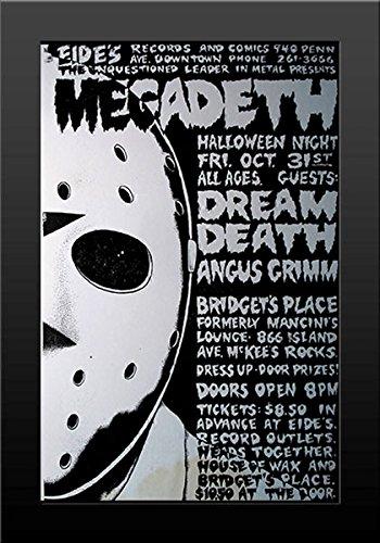 11x17 FRAMED Poster Print Megadeth Live Halloween Concert ()