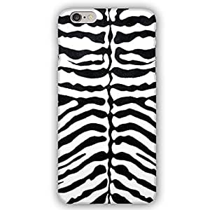 Zebra Pattern Animal Print iPhone 6 Slim Phone Case
