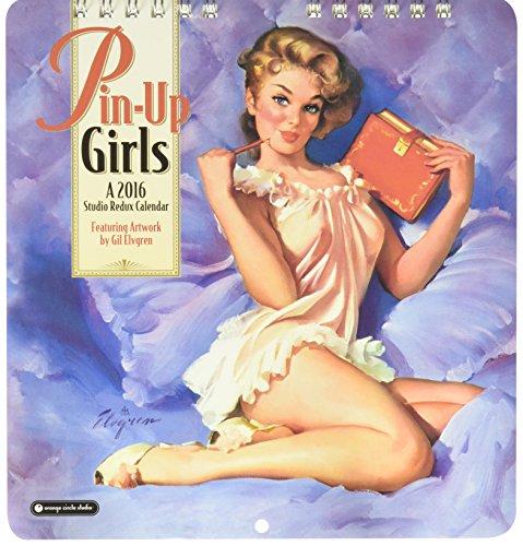 Pin-Up Girls - 2016 Mini Calendar 7 x 7in