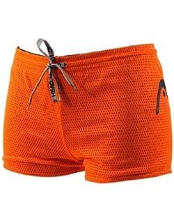 9341f0d240 Head Double Power Drag Short - Black and Orange Extra Small: Amazon ...