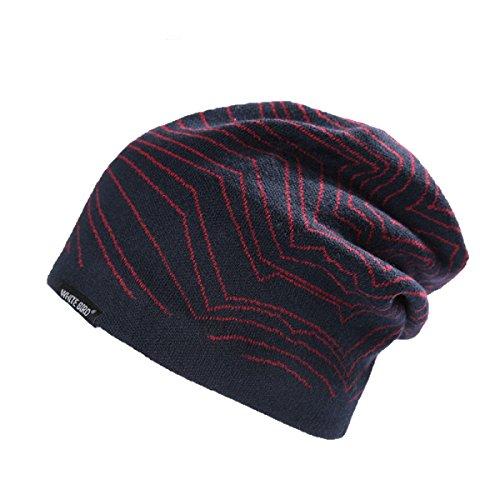 Lana De De Punto Sombrero Invierno Conjuntos Sombrero Sombrero C Espesamiento E De Otoño GEXINGMen De EFtHqwq