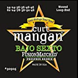 Curt Mangan Bajo Sexto Phosohor Bronze Strings Wound Loop End