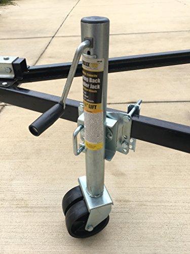 Wheel Lift Swing : Maxxhaul  quot to lift swing back trailer jack