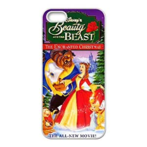 iPhone 4 4s Cell Phone Case White Beauty and the Beast The Enchanted Christmas Q0301736