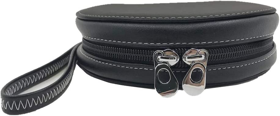20 Capacity Leather CD//DVD Case Wallet Great for Car by Rekukos