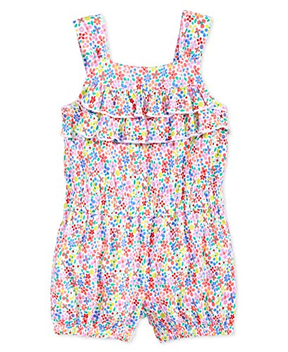 First Impressions Baby Girls? Butterfly Romper (Colorful,12 Months)