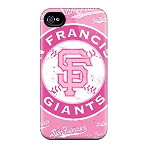 Snap-on Cases Designed For Iphone 4/4s- San Francisco Giants