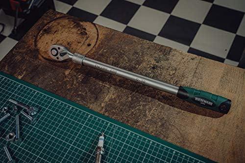 Cricchetto telescopico da 1//22 ENCORE 600 45-60 cm WIESEMANN 1893 I chiave a cricco telescopica per lavori che richiedono coppie elevate a 615 Nm I con 72 denti e funzione di commutazione I 81338