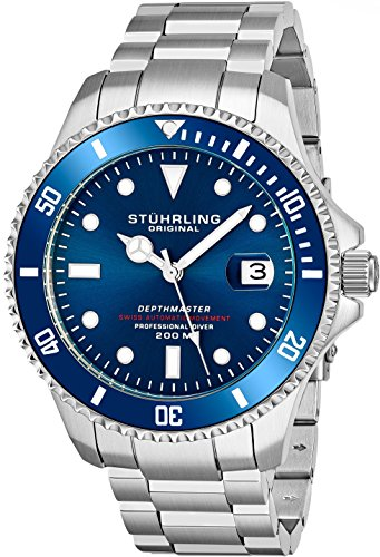 (Mens Swiss Automatic Stainless Steel Professional
