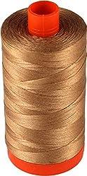 Aurifil Mako Cotton Quilting Thread 50 wt. Light Chestnut 1420 yd.
