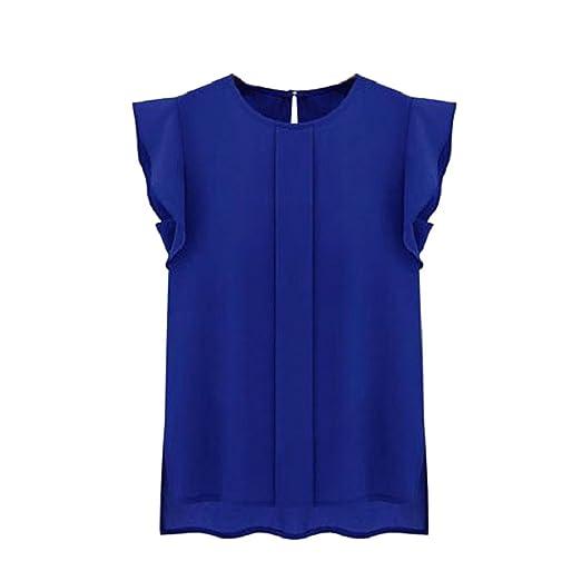 2 opinioni per Culater® Donne Camicia del Bicchierino Manica della Camicetta Top In Chiffon