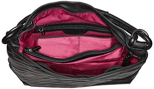 Think Bag, Borse a spalla Donna Nero (Schwarz 00)