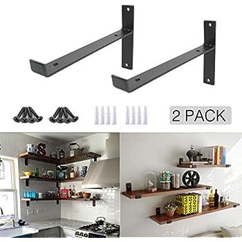 Amazon Com Heavy Duty Industrial Shelf Brackets 10