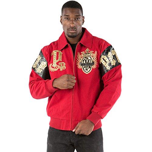 Pelle Pelle Empire Twill Jacket (XL, (Black Empire Jacket)
