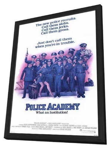 Police Academy Framed Movie Poster