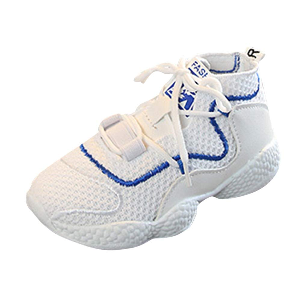 Baby Toddler Girls Boys Casual Walking Shoes Sneakers for 1-12 Years Old Kids Children Mesh Breathable Running Shoes