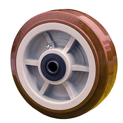 6'' x 2'' Polyurethane Wheel for Casters or Equipment Service Caster Brand