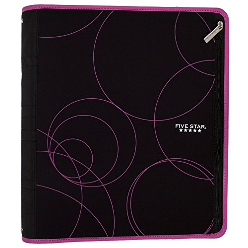 Five Star 2 Inch Zipper Binder, Ring Binder, Xpanz, Assorted Colors (29040) by Five Star (Image #9)