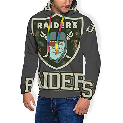 RHDFHK Swampland Raiders Shrek Men's Fashion Sweatshirt Hoodie Hooded Pullover Pockets Plus Velvet