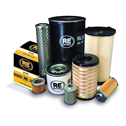 Canycom S25 Filter Service Kit with Kubota V2203-B Engine Air - Oil - Fuel Filters: