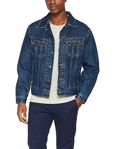 Vaquera Lee Chaqueta Rider Stonewash Hombre Rd46 Jacket Azul Dark para pwTtrwnq