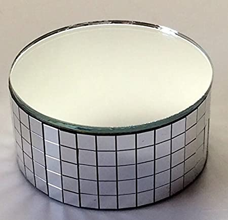40405 X 40 Silver Display Stand Mirror Riser Swarovski Crystal Stand Custom Swarovski Display Stands