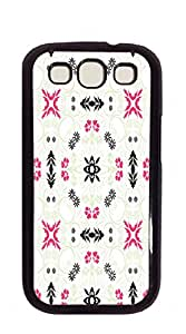 TUTU158600 High Quality Diy case Of Watercolor customized Bumper Plastic cell phone cases for galaxy s3 - Geometric pattern abstract background