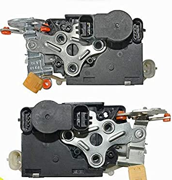 Amazon Com Pair Front Door Lock Actuator Motor 931318 931319 For Chevrolet Silverado Automotive