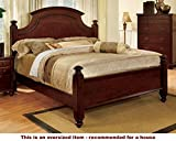 What Are the Dimensions of a California King Mattress 247SHOPATHOME Idf-7083CK Bed-Frames, California King, Cherry