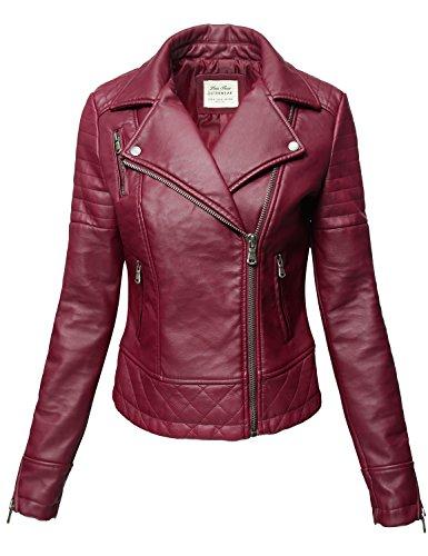 Leather Biker Jackets For Women - 7
