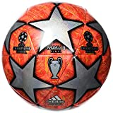adidas Finale Top Replique Soccer Ball Multicolor/Active Red/Scarlet/Solar Red Bottom: Bright Orange/Solar Gold/Black, 5