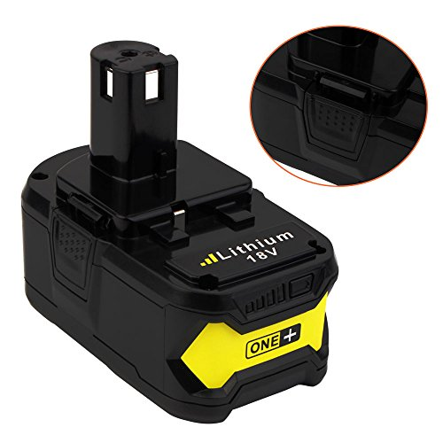 18V 6.0ah Lithium Ion Battery for Ryobi ONE+ P104 P105 P102 P103 P107 P108 P507 BPL-1815 BPL-1820G BPL18151 BPL1820 Cordless Power Tools (2-Pack) by VANON (Image #5)