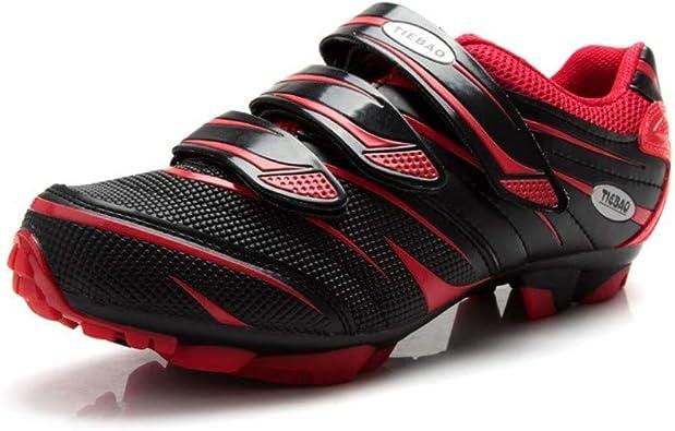Tiebao - Zapatillas de ciclismo de montaña con suela de TPU ...