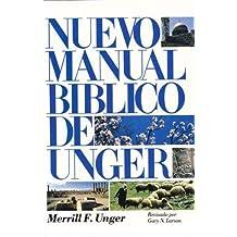 Nuevo Manual Biblico: New Unger's bile Handbook