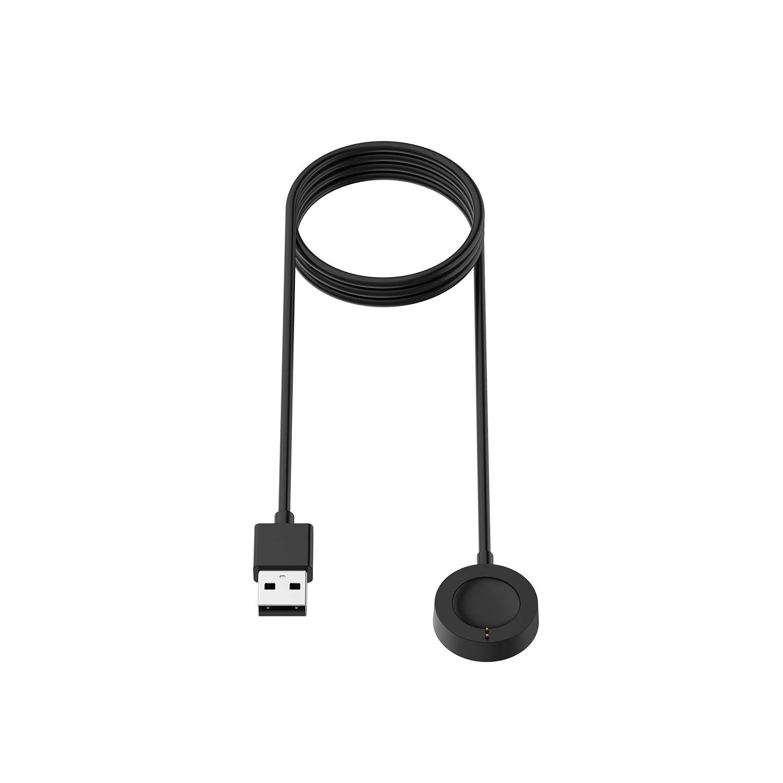 TenCloud Cargador compatible con Fossil Gen 4/Gen 5 cable de carga ...